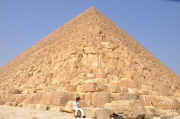 Esto es lo que se siente al escalar la pirámide de Giza