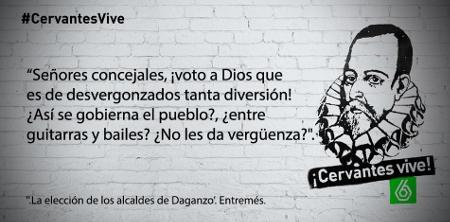Miguel de Cervantes tiene su propio perfil en Twitter