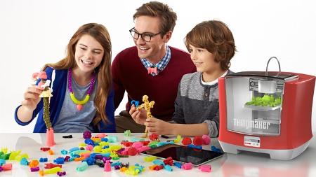 Una impresora 3D para que los niños creen sus propios juguetes