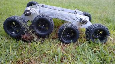 Estudiante mexicano diseña un robot para misiones de rescate