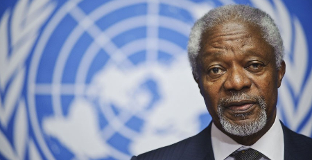 La falta de perspectivas arrastra a jóvenes al yihadismo, según K. Annan