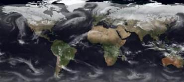 Vídeo de 9 minutos muestra el clima en la Tierra durante 2015