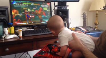 Conoce al bebé de seis meses que completa el modo historia de 'Street Fighter V'