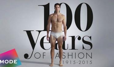 Cien años de moda masculina en menos de tres minutos