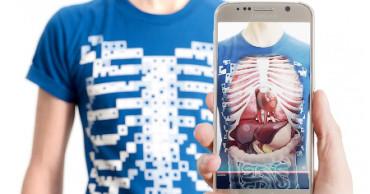 Esta camiseta te enseña anatomía
