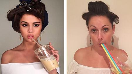 Cómica ridiculiza 'el postureo' de los famosos en Instagram
