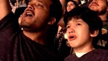 La emoción de este niño en un concierto de Coldplay se viraliza en la Red