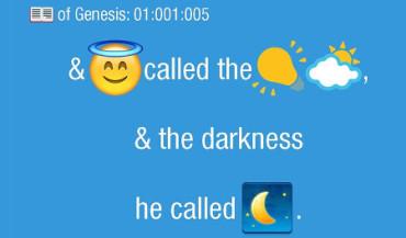 Lanzan la primera Biblia en emojis