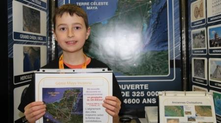 Un adolescente descubre una ciudad maya perdida