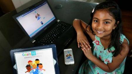 Con nueve años es la desarrolladora más joven de apps para iOS