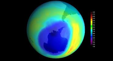 Se reduce el agujero de la capa de ozono