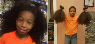 Niño no se corta el pelo en dos años para hacer pelucas para niños con cáncer