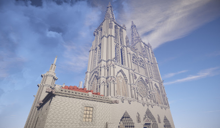 Dos jóvenes diseñan réplicas de edificios en Minecraft para promover el turismo