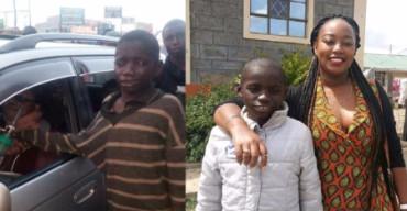 El bondadoso gesto de este niño abandonado cambió su vida