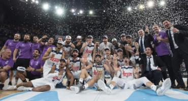 Cuarta Copa del Rey consecutiva para el Real Madrid de baloncesto