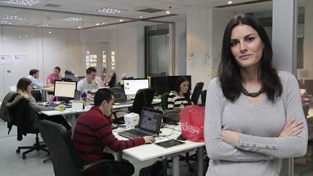 Rebeca Minguela, la única española nombrada Joven Líder Mundial