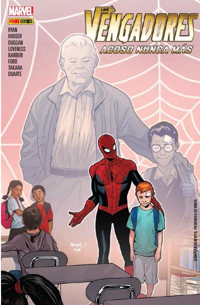 Spider-Man contra el acoso escolar