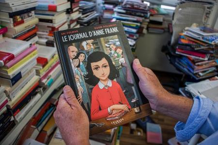 La historia de Ana Frank llega al cómic