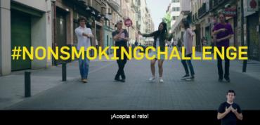 Súmate al #nonsmokingchallenge. ¡Acepta el reto!