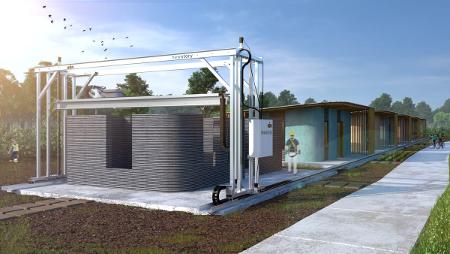 Una empresa y una ONG construirán viviendas impresas en 3D en El Salvador