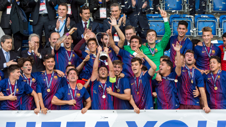 El Juvenil A del Barça consigue su segunda Youth League
