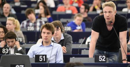 8.000 jóvenes europeos debaten en Estrasburgo sobre el futuro de Europa