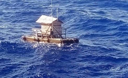 Joven de 19 años sobrevive a la deriva durante 48 días