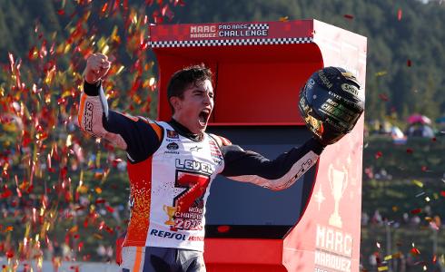 Marc Márquez consigue su séptimo título mundial en motociclismo