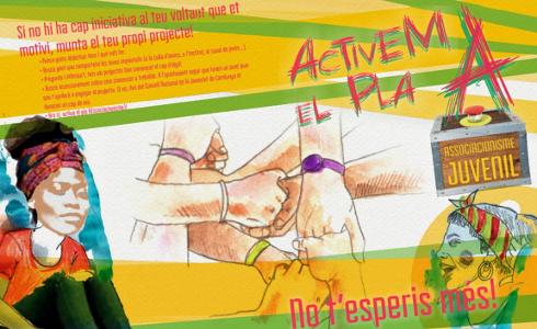Campaña de fomento del asociacionismo juvenil de la Diputación de Barcelona