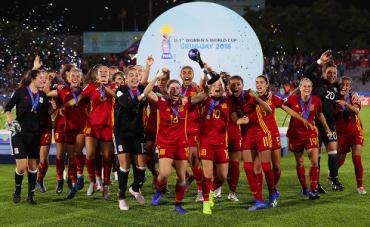 España conquista su primer Mundial femenino Sub-17