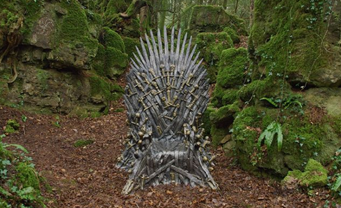 HBO esconde 6 tronos de hierro por todo el mundo para que los encuentres