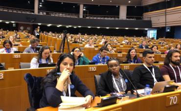 Más de 800 jóvenes acuden a Bruselas con motivo de la Semana Europea de la Juventud