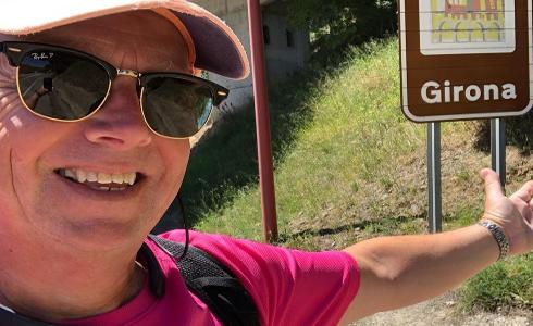 Recorre más de 1.300 kilómetros para recaudar fondos contra el cáncer