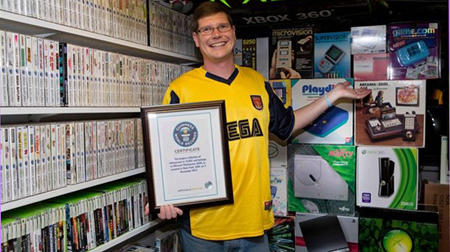 Subastan la mayor colección de videojuegos del mundo