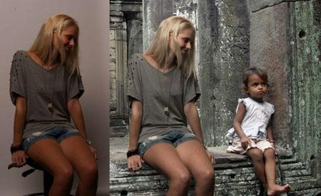 Joven holandesa crea un viaje falso gracias a Photoshop e Internet