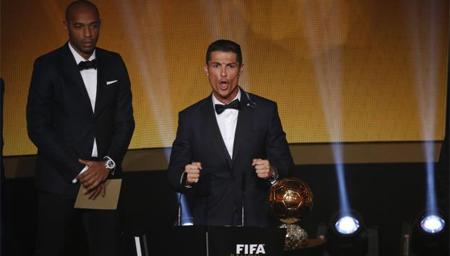Tercer Balón de Oro para Cristiano Ronaldo