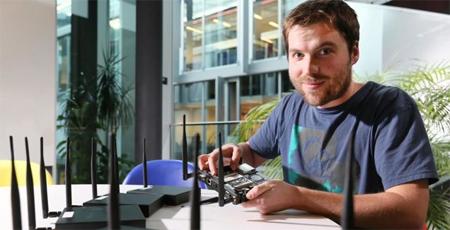 Estudiante crea algoritmo que multiplica por 7 la velocidad del wifi