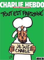 """""""Todo perdonado"""", la portada del próximo número de 'Charlie Hebdo'"""