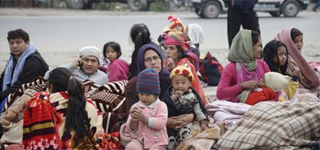 Un millón de niños afectados por el terremoto en Nepal