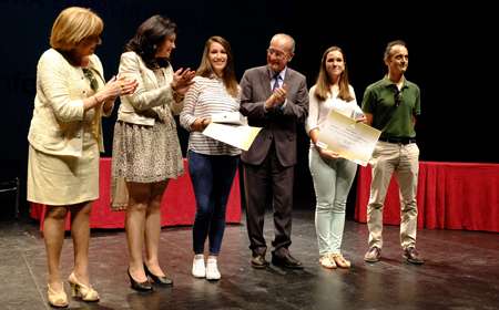 El Ayuntamiento de Málaga premia la mejor idea empresarial realizada por estudiantes de ESO y Bachillerato