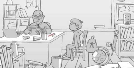 Un polémico juego muestra varios modos de golpear a un profesor