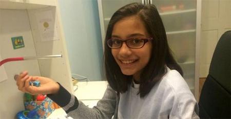 Esta niña de 11 años vende contraseñas inexpugnables