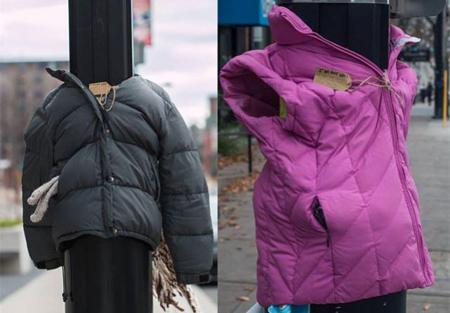 'Nadie sin abrigo', iniciativa de un grupo de niñas para proteger a los sin techo del frío