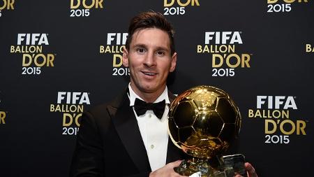 Leo Messi ya tiene su quinto Balón de Oro
